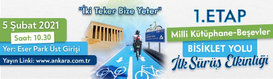 bisiklet yolu etkinliği