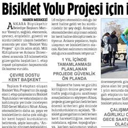 29.02.2020 – Anadolu / Bisiklet yolu projesi için ilk adım atıldı.