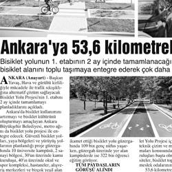 29.02.2020 – Anayurt / Ankara'ya 53,6 kilometrelik bisiklet yolu.