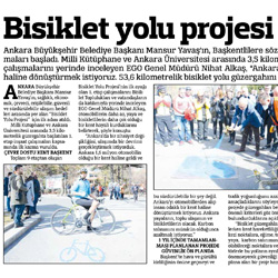 29.02.2020 – Güçlü Anadolu / Bisiklet yolu projesi için ilk adım.