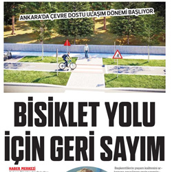 27.02.2020 – Sonsöz Gazetesi / Bisiklet yolu için geri sayım.