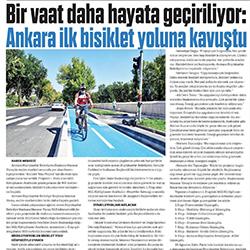 13.08.2020 – Sonsöz / Ankara ilk bisiklet yoluna kavuştu