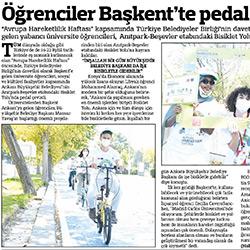 11.09.2020 – Güçlü Anadolu /  Öğrenciler Başkent'te Pedal Çevirdi