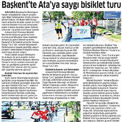 28.08.2020 Ticari Hayat / Başkent'te Ata'ya saygı bisiklet turu