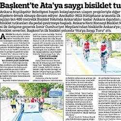 28.08.2020 – Güçlü Anadolu / Başkent'te Ata'ya saygı bisiklet turu