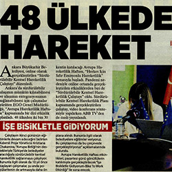 20.09.2020 – Milliyet Ankara / 48 ülkede hareket