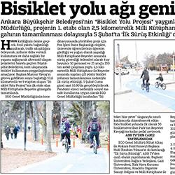 04.02.2021 – Güçlü Anadolu / Bisiklet yolu ağı genişliyor