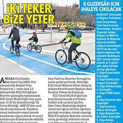 04.02.2021 – Hürriyet Ankara / İki Teker Bize Yeter