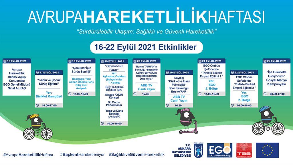 Avrupa Hareketlilik Haftası Programı
