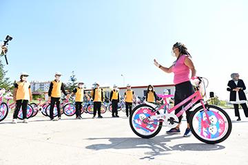 Avrupa Hareketlilik Haftası'nda Başkentli Öğrenci ve Ailelerine Bisiklet Sürüş Eğitimi